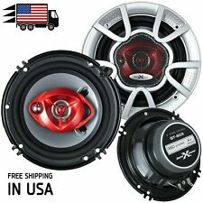 """New Soundxtreme 6"""" in 3-Way 350 Watts Coaxial Car Audio Speaker Cea Rated (Pair)"""