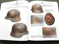 """""""CAMOUFLAGE HELMETS OF THE WEHRMACHT VOL. 1"""" GERMAN WW2 STAHLHELM REFERENCE BOOK"""