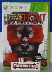 Homefront Resistance Multiplayer Pack Xbox 360 THQ PAL USK 18 NEU OVP Folie