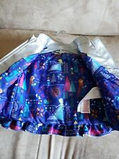 Disney Store Girl's Toddler Frozen Jacket Silver Lined Padded Sparkly