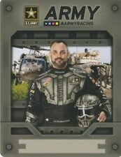 2018 Tony Schumacher U.S. Army Top Fuel NHRA postcard
