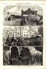 1855 Funeral Lord Raglan Landing Procession Lying In State