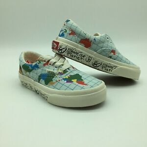 """Vans Kid's/Toddlers Shoes """"Era''(Save Our Planet) Clswtmlt. Sold As Is."""