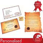 Personalised Letter From Santa Inc. Reindeer Food & Good Child Certificate