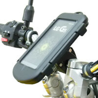 Impermeabile Aggancio Rapido Manubrio Moto Supporto Per LG G5