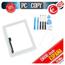 Pantalla táctil ipad 4 blanca + marco adhesivo y herramientas Touch screen A++