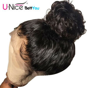 Full Lace Human Hair Wigs Pre Plucked With Baby Hair Full Lace Wigs For Women 8A