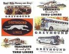 JL INNOVATIVE HO SCALE 1/87 50'S VINTAGE BUS BILLBOARDS SIGNS SET | 374