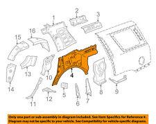 GM OEM Inner-Quarter Panel-Inner Panel Left 22958200