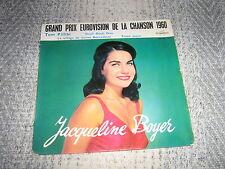 EUROVISION 1960 EP FRANCE JACQUELINE BOYER