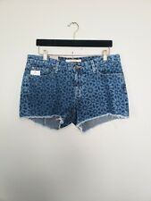 Big Star Shorts Mosaic Denim Size 31