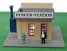 Model Power -HO-#580     Power Station,  Assembled