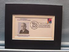 1948 - Israel Independence is Recognized by Harry Truman & Commemorative Cover