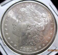 1881-S BU/MS Morgan Silver Dollar  Key Date *Tremendous Eye Appeal-New VAM-22