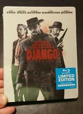 ☆《NEW》☆《 DJANGO Unchained》 ☆《steelbook》 ☆(Blu-ray Disc, With Movie Money)