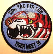 USAF 120th TAC FTR Squadron Tiger Meet 1991 Patch