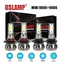 Protekz 9006 HB4 90W 9000LM LED Headlight w// TX1860 Chip 6000K Low Beam Bulbs