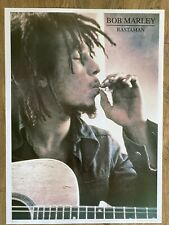 """More details for bob marley poster 25"""" x 35"""" mint condition 1996 issue printed by gb prints uk"""