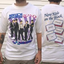 Nkotb New Kids Block T-Shirt 1989 Vtg vintage Rare 80s Large suits big step prod