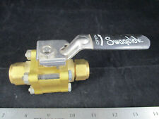 Industry-Std 1WMT7 Ball Valve 1//8 1500PSI