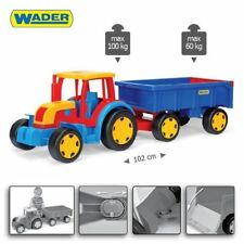 TRACTOR GIGANT WITH A TRAILER GIANT LARGE HUGE BIG 102 CM (40 INCH) LONG TOY NEW