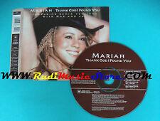 CD Singolo Mariah Carey Thank God I Found You 6688542000  EU 2000 no lp mc(S22)
