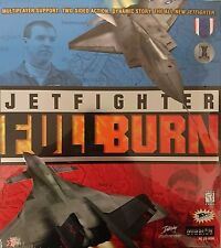 Sealed NEW Retro 1998 PC DOS Game - JETFIGHTER FULL BURN