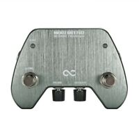 New One Control Rocket Grey Fuzz Guitar Effects Pedal