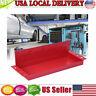 Magnetic Repair Tool Storage Box Tray Plate Shelf Plastic Toolbox Set Red