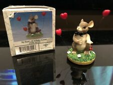 Charming Tails Figurine My Heart's All A Flutter (Groom) Valentines Day Gift