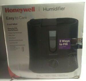 Honeywell HUL570B Top Fill Cool Mist Humidifier Black Ultra Quiet/Auto Shut-Off.