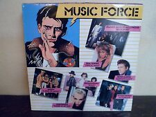 "LP 12"" MUSIC FORCE - Compilation 1986 - QUEEN - OMD - PETER GABRIEL...EX/EX"