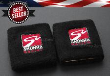 Pair Skunk 2 Reservoir Brake Clutch Oil Tank Cover Cap Sock For Honda Acura