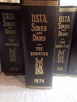 1974 USTA Sires & Dams Yearbook Trotting Register trotting horses harness racing