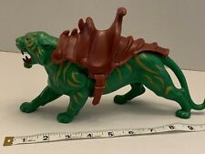 Vintage Masters Of The Universe He Man MOTU Battle Cat with Saddle HAS WEAR
