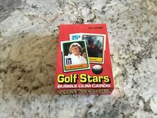 1981 Donruss Golf Unopened 36 Pack Box. Almost all are Rookies Like Nicklaus