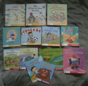 Oxford Reading Tree Snapdragons learn to read books bundle level 1,4,5