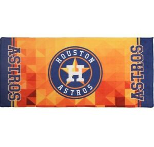 "Houston Astros Nine Culture MLB Fiber Towel Soft Sweat Absorbent 14"" x 30"""