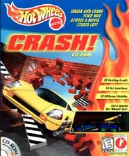 Hot Wheels Crash Cd Rom Pc New Cd Rom Sealed In Paper Sleeve XP