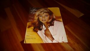 NANCY SINATRA LOVE EYES ORIGINAL US 1967 SHEET MUSIC