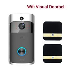 Smart Wireless Visual Doorbell 2pc DingDong 2 Way Talk Phone Video Intercom IR