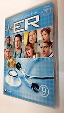 E.R. Medici  in prima linea DVD Serie TV Stagione 9 Disco 4 Episodi 4