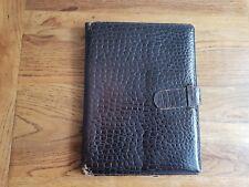Vintage 80's J & M Davidson Brown Leather A5 Personal Organsier
