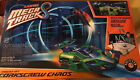Lionel MEGA TRACKS RC Corkscrew Chaos Master Set-GREEN CAR F-A w/20ft track-NIB