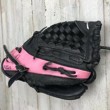 "Mizuno GPP1105 11"" Pink/Black Youth Softball Glove Right Hand Throw RHT.    3F"
