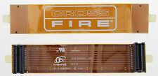 "CROSS FIRE FLEX FLEXIBLE AMD ATI BRIDGE CONNECTOR CABLE 100mm 10cm 4""INCH C110"