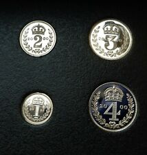 More details for 2000 silver  proof millennium maundy coin set , excellent scarce  coin set