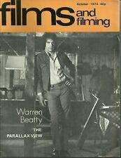 RARE - FILMS AND FILMING Magazine - October 1974 - Warren Beatty  Richard Lester