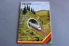 X281 NOCH Train catalogue Ho N Z1995 116 Landschafts-Anlagen perfekt gestaltet