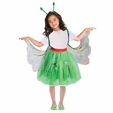 Kids Girls The Very Hungry Caterpillar Butterfly Book Week Fancy Dress Costume